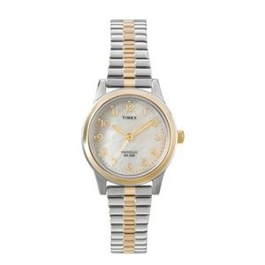 Timex Mother of Pearl Indiglo Expansion Watch